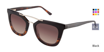 Black Kate Yong For Tura K519 Sunglasses Teenager.