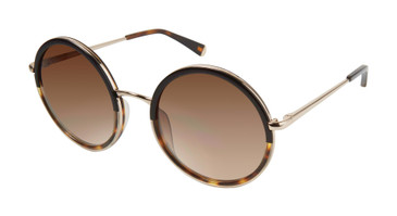 Black/Gold  Kate Young For Tura K530 Sunglasses.