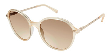 Champagne Kate Young For Tura K531 Sunglasses.