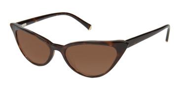 Havana Tortoise Kate Yong For Tura K536 Sunglasses.