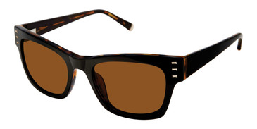 Black Kate Young For Tura K539 Sunglasses.