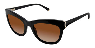 Black Kate Young For Tura K540 Sunglasses.
