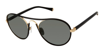 Black/Gold Kate Young For Tura K543 Sunglasses.