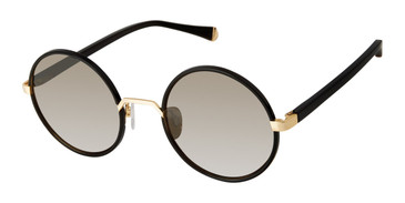 Black/Gold Kate Young For Tura K544 Sunglasses.