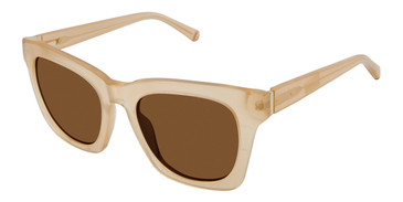 Champagne Kate Young For Tura K546 Sunglasses.