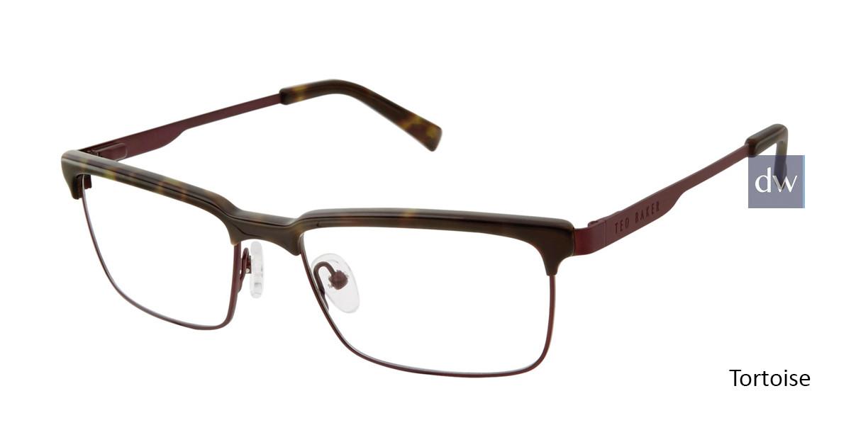 Tortoise Ted Baker B351 Eyeglasses.