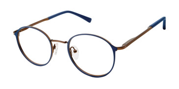 Navy Blue Ted Baker B356 Eyeglasses - Teenager.