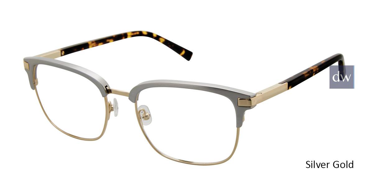 Silver Gold Ted Baker B357 Eyeglasses.