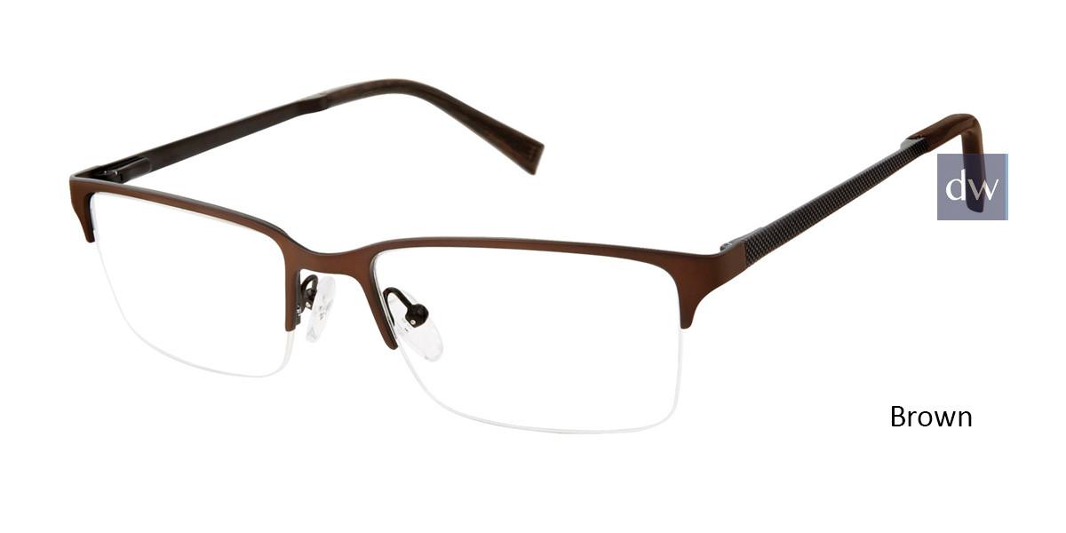 Brown Ted Baker B358 Eyeglasses