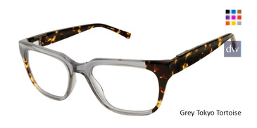 Grey Tokyo Tortoise Ted Baker TB802 Eyeglasses.