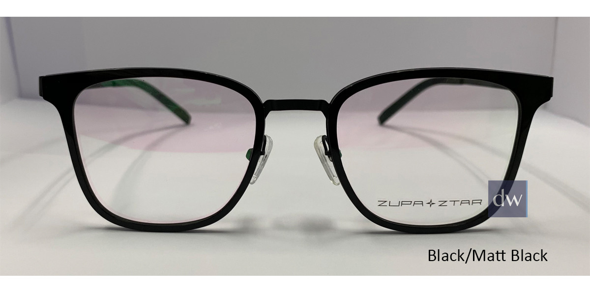 Black/Matt Black Zupa Ztar Zz448A Eyeglasses - Teenager.