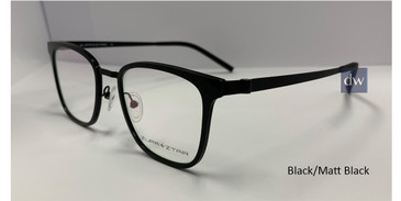 Black/Matt Black Zupa Ztar Zz448A Eyeglasses - Teenager.
