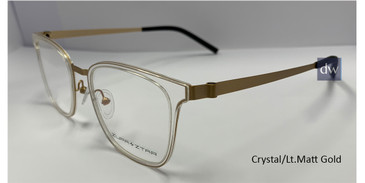 Crystal /Lt.Matt Gold Zupa Ztar Zz5448B Eyeglasses - Teenager.
