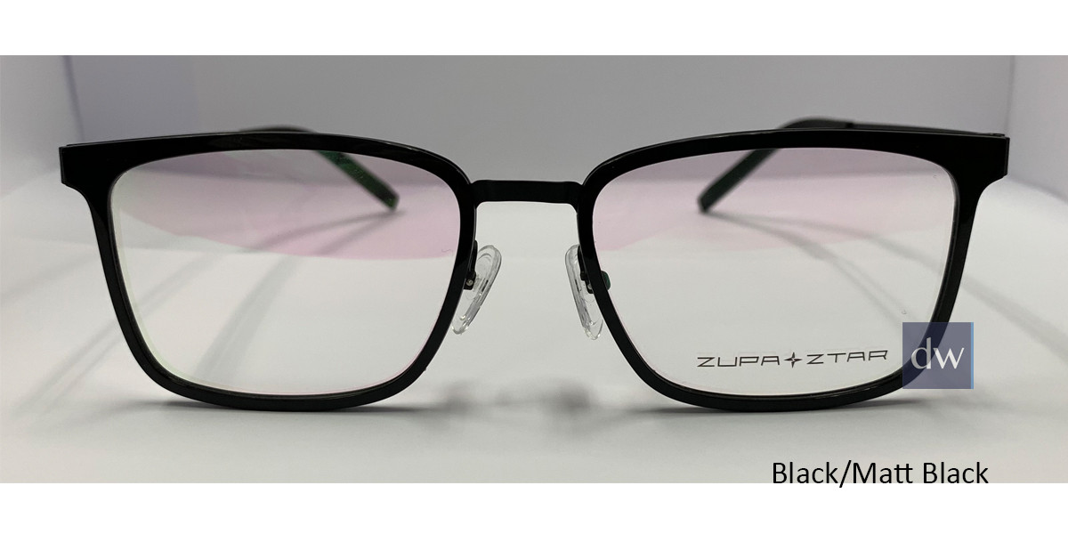 Black/Matt Black Zupa Ztar Zz5449A Eyeglasses.