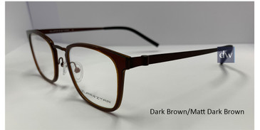 Dark Brown/Matt Dark Brown  Zupa Ztar Zz5451B Eyeglasses  - Teenager.