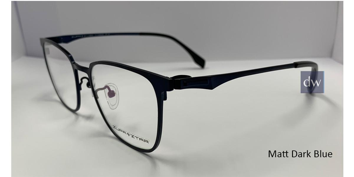 Matt Dark Blue Zupa Ztar Zz 5453B Eyeglasses.