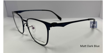 Matt Dark Blue Zupa Ztar Zz 5453B Eyeglasses.