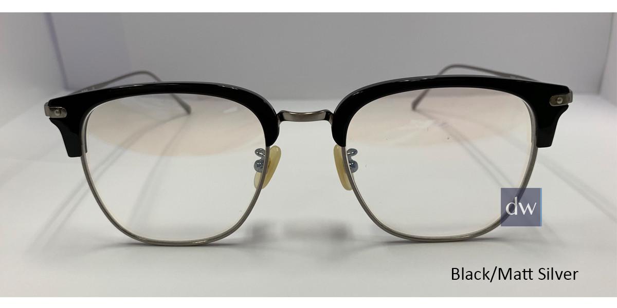 Black/Matt Silver Zupa Ztar Zz 8001A Eyeglasses.