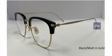 Black/Matt Lt.Gold Zupa Ztar Zz 8001B Eyeglasses.
