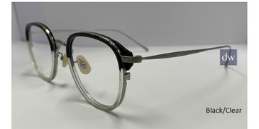 Black/Clear Zupa Ztar Zz8005E Eyeglasses.