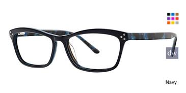 Navy Xoxo Amarante Eyeglasses.