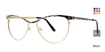 Black Xoxo Anaco Eyeglasses.