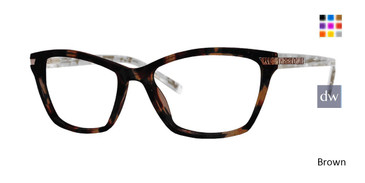 Brown Xoxo Cabo Eyeglasses.