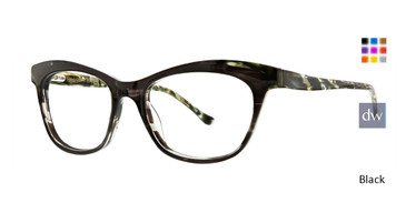 Black Xoxo Cali Eyeglasses.