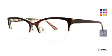 Brown Xoxo Cambria Eyeglasses.