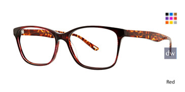 Red Xoxo Carmel Eyeglasses.