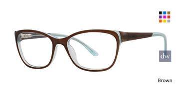 Brown Xoxo Cyprus Eyeglasses