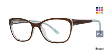 Brown Xoxo Cyprus Eyeglasses.