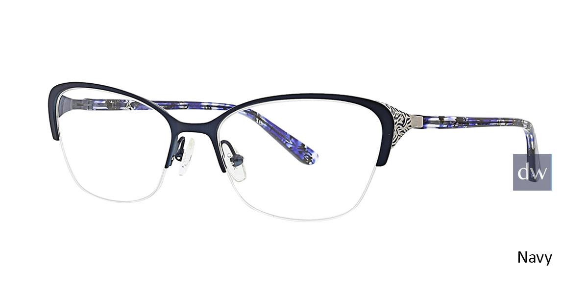 Navy Xoxo Salinas Eyeglasses.