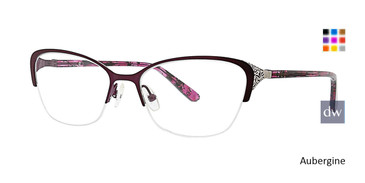 Aubergine Xoxo Salinas Eyeglasses.