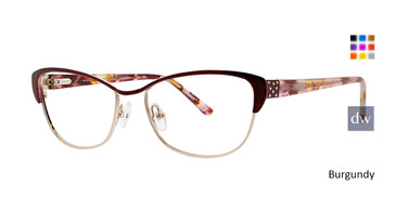 Burgundy Xoxo Sanibel Eyeglasses.