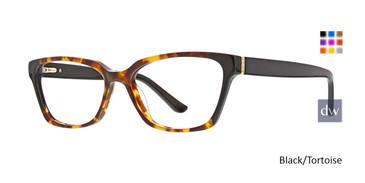 Black/Tortoise Xoxo Santa Fe Eyeglasses.