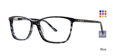 Blue Xoxo Sedona Eyeglasses.