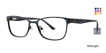 Midnight Xoxo Siena Eyeglasses.