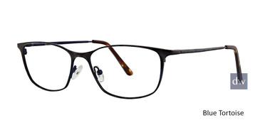 Blue Tortoise Xoxo Taza Eyeglasses.
