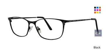 Black Xoxo Taza Eyeglasses.