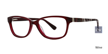 Wine Xoxo Tropez Eyeglasses.
