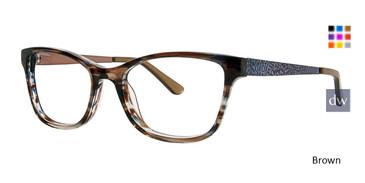 Brown Xoxo Verona Eyeglasses.