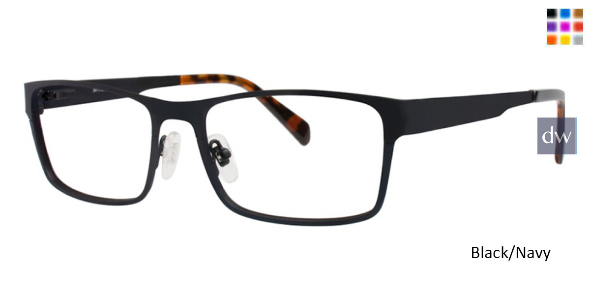 Black/Navy Argyleculture Calloway Eyeglasses.