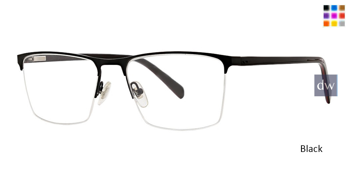 Black Argyleculture Chesney Eyeglasses.