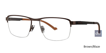 Brown/Blaze Ducks Unlimited Dustoff Eyeglasses.