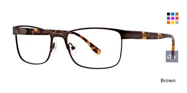 Brown Ducks Unlimited Fairfield Eyeglasses.