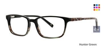 Hunter Green Ducks Unlimited Fleet Eyeglasses.