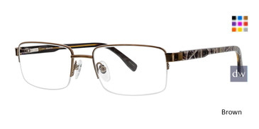 Brown Ducks Unlimited Greenwood Eyeglasses.