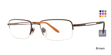 Brown Ducks Unlimited Gunny Eyeglasses.