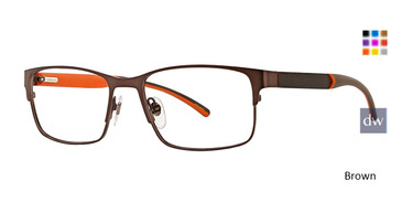 Brown Ducks Unlimited Hawk Eyeglasses.